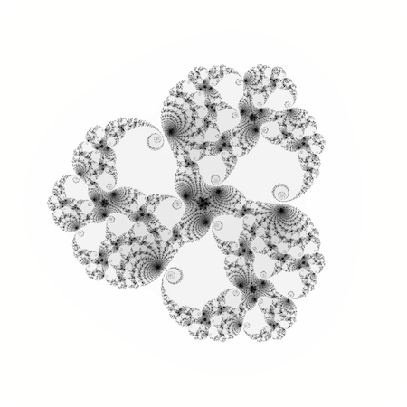 A third degree Julia set, centered at 0.39 + 0.0005i.
