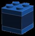 The 2x2 LEGO cube.